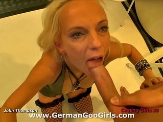 Casting girl Jaqueline gives a super sexy performance