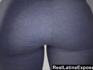 RealLatinaExposed - Ava Alvares Shows Off Her Amazing Ass