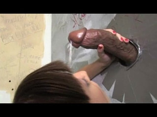 Skinny Teen Gloryhole Facial!